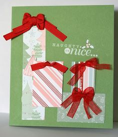 Designed by maryross: Tarjetas Simples para Navidad 2013, simple christmas card, tags til christmas from stampin up