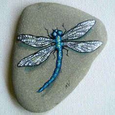 Dragon fly rock