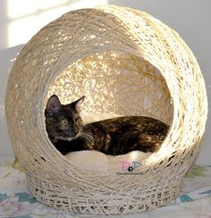 It's time for you to diy cat toys in order to have some cat fun. We hope that this diy cat will get you creative. Diy cat items are good for working now. Diy cat furniture will make your cat happy. Diy ideas for whevere you have free time! Diy Cat Hammock, Pet Station, Cat House Diy, Diy Cat Tree, Cat Basket, Cat Playground, Cat Room, Pet Furniture, Cat Accessories