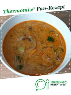 Thai Kokos Suppe Thai Kokos Suppe von tommi_in. Ein Thermomix ® Rezept aus der Kategorie Suppen auf www. Food Now, A Food, Kneading Dough, Asian Restaurants, Smart Kitchen, New Cookbooks, Yams, Sweet And Salty, Bon Appetit