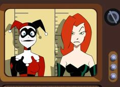 BTAS Harley Quinn and Poison Ivy