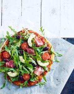 Pizza med spekeskinke og avokado | www.greteroede.no | www.greteroede.no