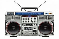 Boombox's, now outshined by other electronics, yet still iconic. Since the rock and punk movements of the 70s and 80s - the first to make use of them – these machines have emerged to become the code and ultimate object of hip-hop culture.