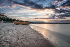 Binz Strand Abends