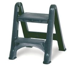 Rubbermaid Commercial Products RCPFG420903CYLD Foldable TwoStep Stool 1888inx21inx2288in Dark Gray -- See this great product.