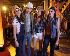 Troian, Keegan,Shay and Lindsey