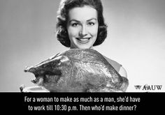 SheWired - Shot of the Day: Don't Mind the Gender Gap - E-Cards Gender Pay Gap, Perfect Turkey, E Cards, Professional Development, Looking For Women, You Got This, Thanksgiving, How To Make, Equal Pay