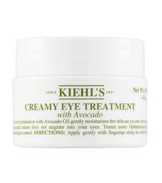 This creamy preparation with Avocado Oil, gently moisturizes the delicate eye area. Our unique, concentrated texture does not migrate into your eyes.  Ophthalmologist-Tested. Dermatologist-Tested.