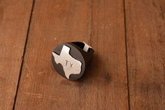 Wooden Texas Ring