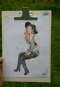 Um dos meus desenhos