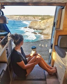 We love to travel in the van. We get to know each other differently and better by being able to go anywhere and whenever we want it. It's the freedom to change our route at any time. This is the good life! // Vanlife Magazine-Vanlife stories by vanlifers
