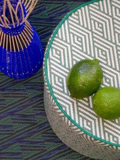 Mayan inspired textiles;  Pierre Frey, Paris