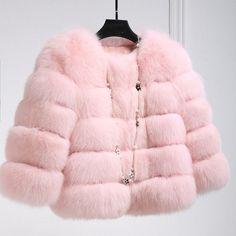 New Arrival 2016 Fashion Women Fur Coat High-Quality Faux Fox Patchwork Fur Short Coat Female Winter Warm Jacket Parka PC148