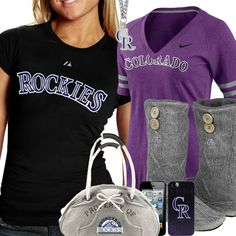 new styles 34af2 c82a7 48 Best Colorado Rockies Fashion, Style, Fan Gear images in ...