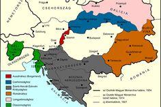 az Osztrák-Magyar Monarchia határa 1924? Há' Margit, normális?