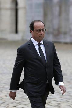 Após ataques, aprovação a Hollande cresce 7 pontos. (foto: EPA)