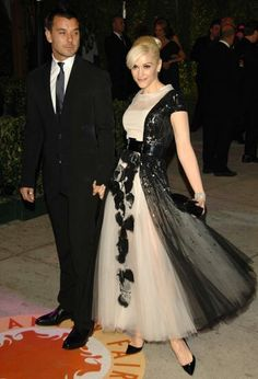 Gwen Stefani, always a fashion icon.