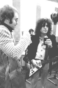 Marc Bolan & Elton John