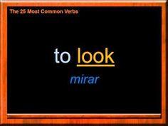 Los Verbos más Usados en Inglés   Las Palabras más Comunes en Inglés  Aprende Inglés - YouTube
