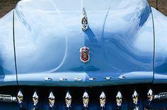 1952 Desoto Grille - Hood Ornament - Emblems - Car photographs  by Jill Reger