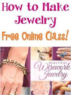 Beautiful Wirework Jewelry! {FREE online class!}