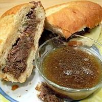 Slow Cooker French Dip Sandwiches 220344 | BigOven