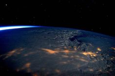 Commander Scott Kelly (@StationCDRkelly) shared this photograph from orbit of the massive winter storm on the U.S. East Coast early on January 23, 2016