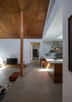 八島建築設計事務所|Yashima architect and associates | 葉山一色の家 / Hyama-Isshiki house Japanese Living Rooms, Japanese Home Decor, Japanese House, Arch Interior, Interior Design, Style Japonais, Japanese Design, Living Room Designs, Decoration