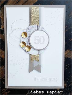 Jetzt aber: Karte zur Goldenen Hochzeit...