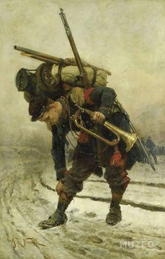 French trumpeter during the Franco-Prussian War