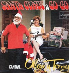 """Olga and Tony """"Santa Claus A-Go-Go"""""""