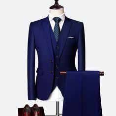 Anzug Männlichen tuxdeo hochzeit anzug Business männer Anzüge Große Größe Boutique Anzug Dünne 2020 Hohe ende Formale Fit party Hochzeit Regelmäßige,Kaufen Sie von Verkäufern aus China und aus der ganzen Welt Profitieren Sie von kostenloser Lieferung, limitiere Genießen Sie ✓ Kostenloser Versand weltweit! ✓ begrenzte Zeit Verkauf ✓ einfache Rückkehr Men's Suits, Dress Suits, Blue Suits, Royal Blue Suit, Blue Suit Men, Groom Suits, Men Dress, Groom Wedding Dress, Wedding Suits