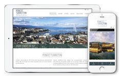 Refonte graphique pour le site Internet PONCET TURRETTINI. Découvrez le dès maintenant sur www.etude-ptan.ch Le Site, Site Internet, Desktop Screenshot, Chart