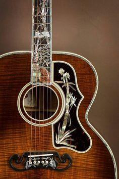 Gibson SJ -200 Koa Master Museum Custom Acoustic Guitar