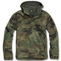 Brandit Ripstop Poncho Rain Cape Jacket Camouflage Camo Army Protection