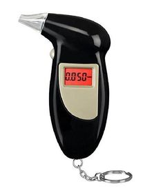 LCD Backlit Display Breathalyzer/Alcohol Tester Key Chain | zulily