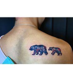 momma bear and 2 cubs tattoo tattoos pinterest cubs tattoo momma bear and bears. Black Bedroom Furniture Sets. Home Design Ideas