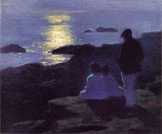Art and more — poboh:   A Summer's Night, Edward Henry Potthast....