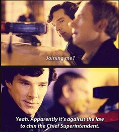 Sherlock was proud, and so were we.