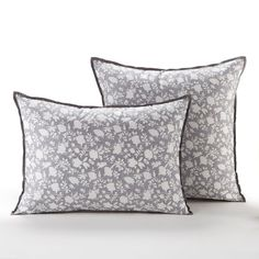 Add a touch of French fashion to any home with chic cushion covers from La Redoute, in a range of fabulous designs. Textiles, Bed Pillows, Pillow Cases, Floral Prints, Bedding, Beautiful, Bed Linens, Home Furnishings, Throw Pillows