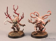 WilhelMiniatures: Silver Tower Week day I: Pink Horrors