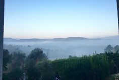 Starting the morning with a tas de the chaud, or hot cup of tea in hand, musing over the misty morning views of the Saint Tropez Valley Morning View, Saint Tropez, Rustic Chic, Trip Advisor, Villa, Tea, Outdoor, Outdoors, Outdoor Games