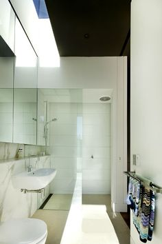 Canterbury House   Neil Architecture OK NARROW DOWNSTAIRS BATHROOM . THIS CAN WORK THIS LOOK AND COLOUR SCHEME