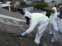 """The idea of removing asbestos shingles from a home is enough to keep a homeowner awake at night what with all the scary news about the health concerns of the """"a"""" word these days."""
