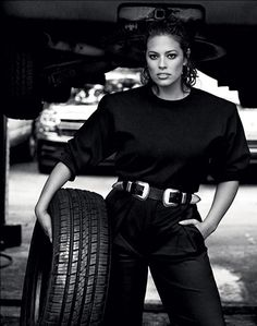 Ashley Graham in our Rouge Belt for Vogue Magazine