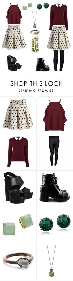 """Warm vs. Cold"" by awesomeandsuperanna ❤ liked on Polyvore featuring Chicwish, Miss Selfridge, Oasis, Ally Fashion, Office, Kate Spade and Child Of Wild"