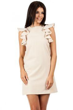 https://www.margery.pl/Sukienka-Model-MOE099-Beige-p2135  Promocja -25% na wszystko! Zapraszamy :)