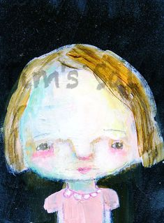 Lydia  original ATC ACEO by Mindy Lacefield by timssally on Etsy, $25.00