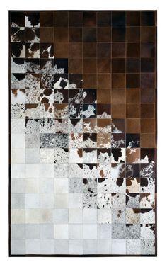 Prescott x Leather Hide Rug at Joss and Main Plush Carpet, Diy Carpet, Rugs On Carpet, Carpet Ideas, Cheap Carpet, Hall Carpet, White Area Rug, Beige Area Rugs, Brown Carpet