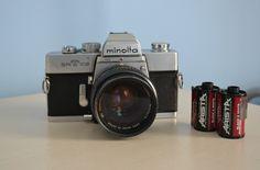 Minolta SRT-102 35mm SLR Vintage Film Camera